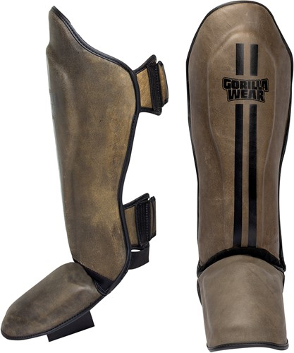 Yeso Shin Guards - Vintage Brown - L