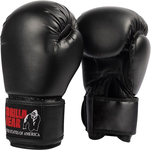 Mosby Boxing Gloves - Black - 16oz