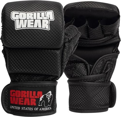 Ely MMA Sparring Gloves - Black/White - S/M