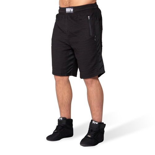 Augustine Old School Shorts - Black-S/M