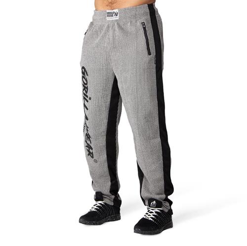 Augustine Old School Pants - Gray-S/M