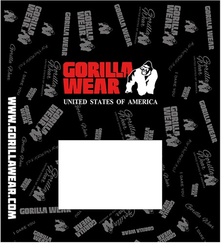 Plastic Mailingbags Gorilla Wear - Small - 400pieces/1box