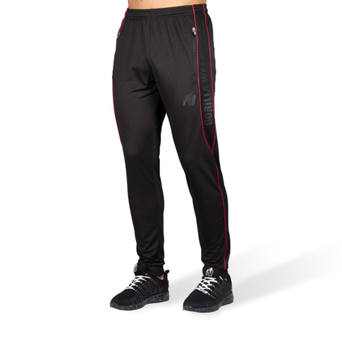 Branson Pants - Black/Red - 3XL