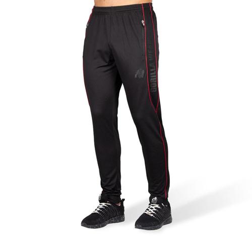 Branson Pants - Black/Red - 5XL