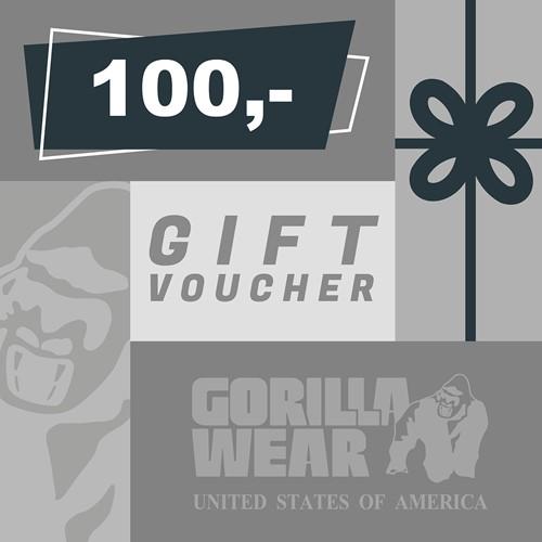 Gorilla Wear Gift Voucher 100