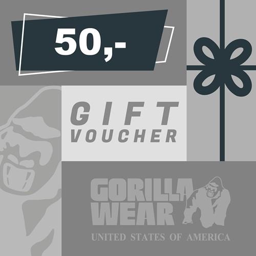 Gorilla Wear Gift Voucher 50