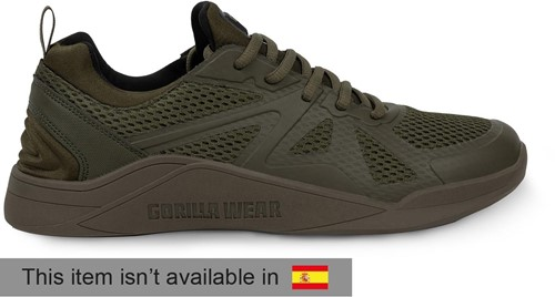Gorilla Wear Gym Hybrids - Green - EU 46