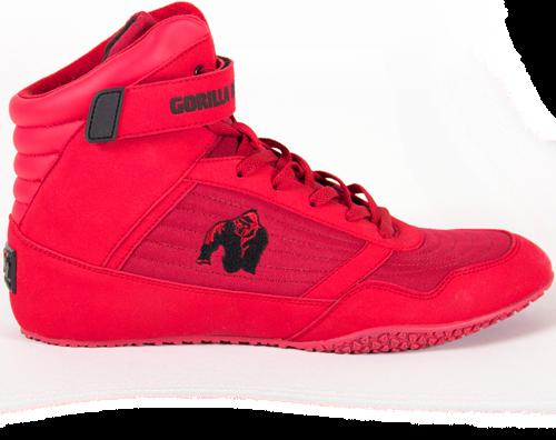 Gorilla Wear High Tops - Red - EU 48