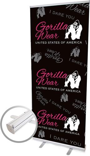 Roll Up Banner Logo Women (85x200cm)